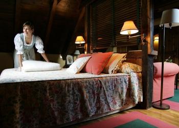 SERVICE DE CHAMBRES Val de Ruda Hôtel Chalet