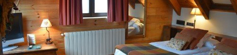 Chambre Triple Val de Ruda Hôtel Chalet