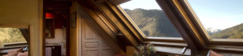 CHAMBRE DOUBLE Val de Ruda Hôtel Chalet